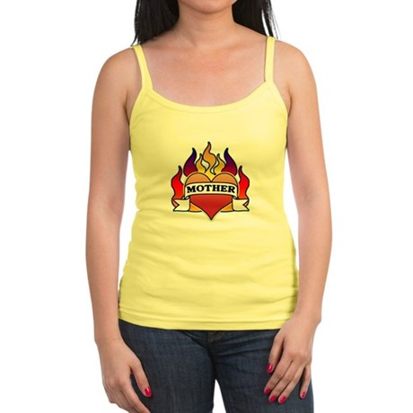Mother Heart Tattoo Jr. Spaghetti Tank