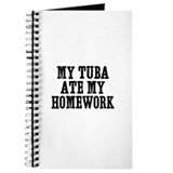 my Tuba ate my homework Journal