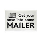 Norman Mailer Rectangle Magnet