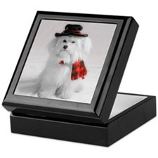 Cute Fun christmas Keepsake Box