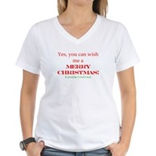 Yes, you can with me Merry Ch Shirt