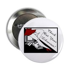 "Check Out 2.25"" Button (100 pack)"