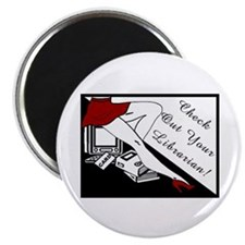 "Check Out 2.25"" Magnet (100 pack)"
