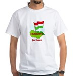 Hungary for love White T-Shirt