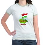 Hungary for love Jr. Ringer T-Shirt