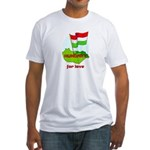 Hungary for love Fitted T-Shirt