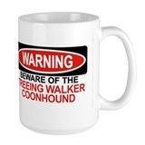 TREEING WALKER COONHOUND Ceramic Mugs