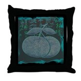 Chinese New Year Oranges Square Throw Pillow
