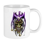 Punk Rock Evil Jester Skull Mug