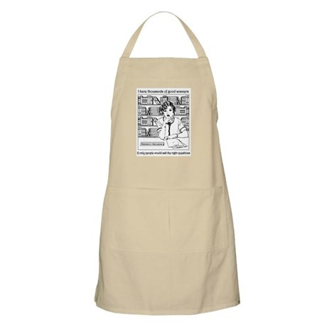 Reference Librarian BBQ Apron