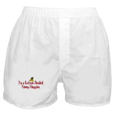 Cotton-Headed Ninny-Muggins Boxer Shorts