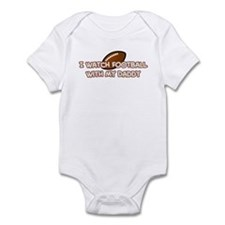 San Francisco Football Daddy Infant Bodysuit