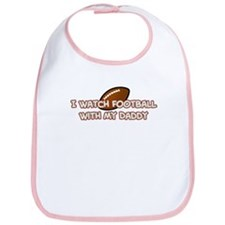 San Francisco Football Daddy Bib
