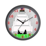 Dog's View Wall Clock