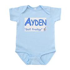 "Ayden ""Golf Prodigy"" Infant Bodysuit"
