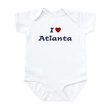 I HEART ATLANTA Infant Bodysuit