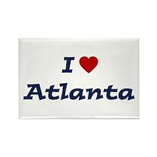 I HEART ATLANTA Rectangle Magnet