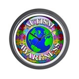 Autism Worldwide Wall Clock