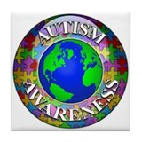 Autism Worldwide Tile Coaster