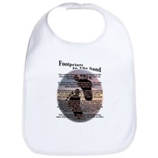 Footprints In The Sand Bib
