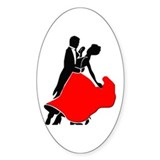 Shall We Dance Oval Decal