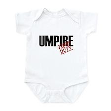 Off Duty Umpire Infant Bodysuit
