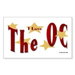 Love The OC? Rectangle Sticker