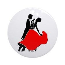 Shall We Dance Ornament (Round)