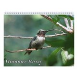 Hummer Kisses Wall Calendar