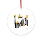 Proud American Keepsake (Round)