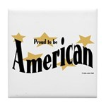 Proud American Tile Coaster