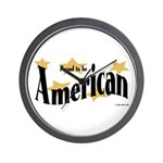 Proud American Wall Clock