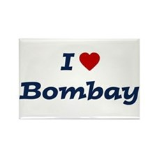 I HEART BOMBAY Rectangle Magnet