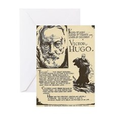 Victor Hugo Mini Biography Greeting Cards