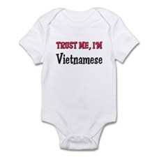 Trust Me I'm a Vietnamese Infant Bodysuit