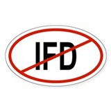 IFD Oval Decal