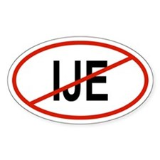 IJE Oval Decal
