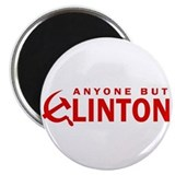 "Anyone But Clinton 2.25"" Magnet (10 pack)"