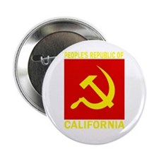 "People's Republic of Californ 2.25"" Button (100 pa"