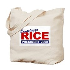 Condoleezza Rice 2008 Tote Bag
