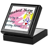 Unique Nursing school Keepsake Box