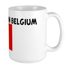ID RATHER BE IN BELGIUM Mug