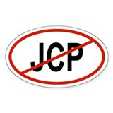 JCP Oval Decal
