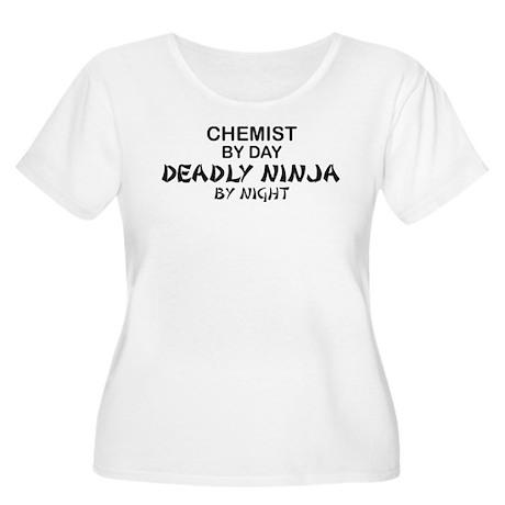 Chemist Deadly Ninja by Night Women's Plus Size Sc