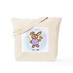Angel Bunny Tote Bag