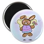 Angel Bunny Magnet