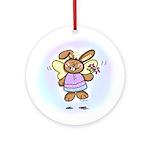 Angel Bunny Keepsake (Round)