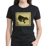 Vintage Frog Illustration Tee