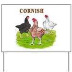 Cornish Trio Yard Sign