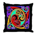 Celtic Swirl Throw Pillow